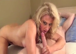 Sexy ass naughty mother takes a dick
