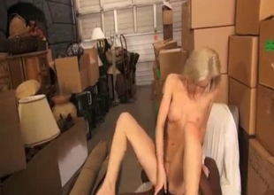 Rich-bodied blonde pounded by a BBC