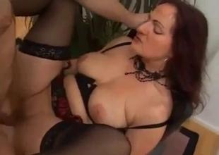 MILF''s hardcore sex delectation