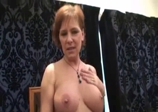 Mom's big tits feel better than before