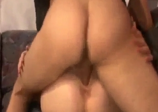 Rough deep pussy fucking of sister