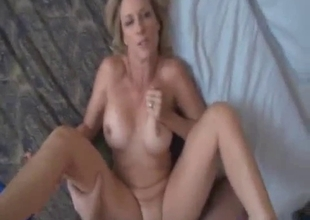 Mom takes care of a hard son's boner