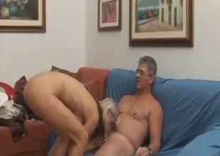 Plunging hot cunt with big cock
