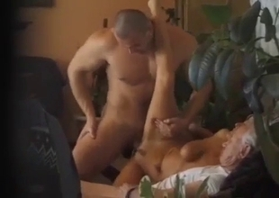 Guy's wife fucked hard by his son