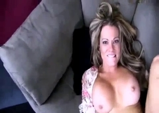 Naughty mom wants you deep in her