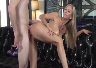 The hottest mom bends over and fucked