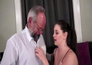 Sublime cock hungry granddaughter
