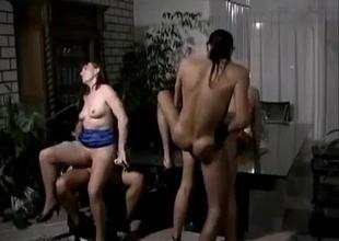 German family go for an orgy