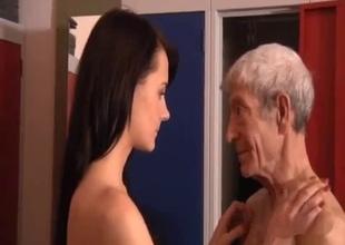 Grandpa's dick is still intact