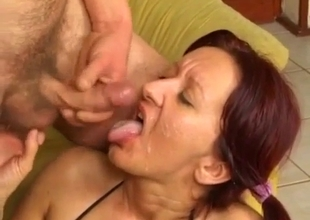 Mature gets pure homemade anal