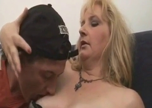 Son loves his sexy German stepmom