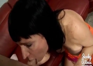 Bad MILF fucking  her son in POV