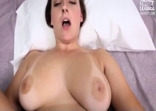 Perfect mom takes a dick in POV