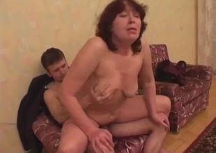 Homemade porn with a mature woman